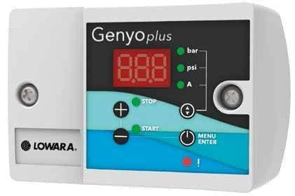 Lowara Genyo Plus Electronic Pressure Switch