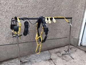 Quick Hitch Trotting Harness, Yellow with  black
