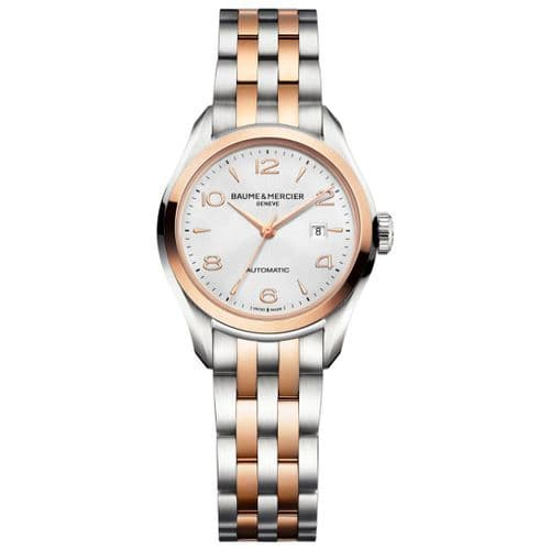 BAUME & MERCIER Clifton Two-tone Automatic Ladies Watch 10152