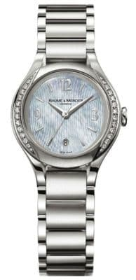 BAUME & MERCIER Ilea Diamond Ladies Watch 8771