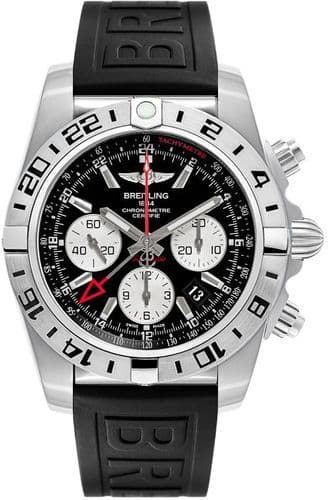 BREITLING Chronomat 44 GMT Automatic Chronograph Gents Watch AB0420B9/BB56/152S
