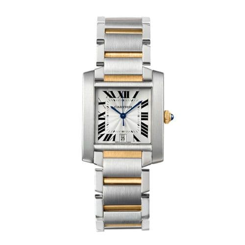 CARTIER Tank Anglaise Automatic Ladies Watch WS51005Q4