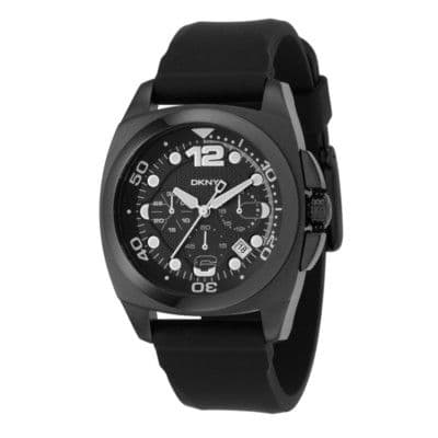 DKNY NY1445 Black Chronograph Gents Watch