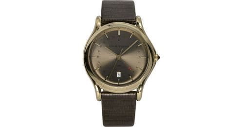 EMPORIO ARMANI Swiss Made GMT Gold Gents Watch ARS1103
