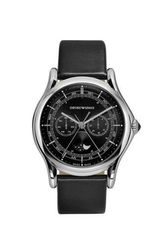 EMPORIO ARMANI Swiss Made Moonphase Gents Watch ARS4200