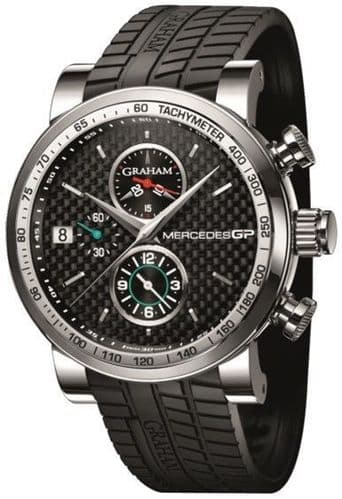 GRAHAM Mercedes GP Trackmaster AUTO Gents Watch 2MEBS.S02A