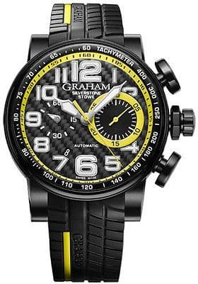 GRAHAM Silverstone Stowe Racing AUTOMATIC Chronograph Gents Watch 2BLDC.B28A