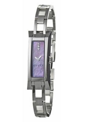 GUCCI G Link Diamond Ladies Watch YA110515