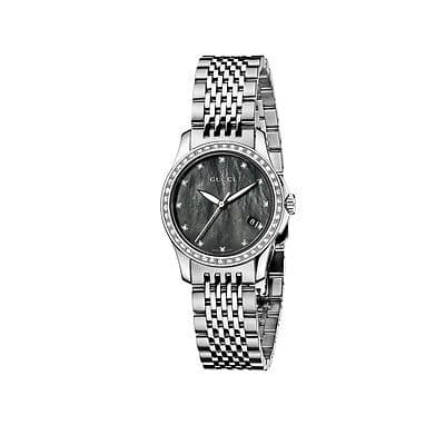 GUCCI G-Timeless 42 Diamond Ladies Watch YA126509