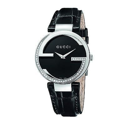 GUCCI Interlocking 45 Diamond Ladies Watch YA133305