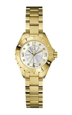 GUESS Collection Gc Sport Chic Gold Diamond Ladies Watch X68104L1S