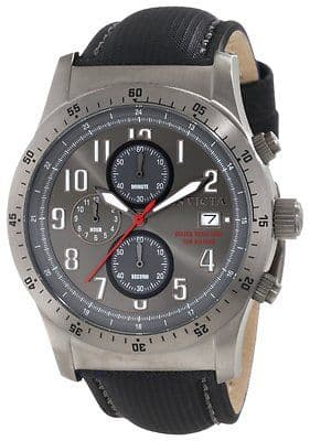 INVICTA Specialty Gunmetal Chronograph Watch 1320