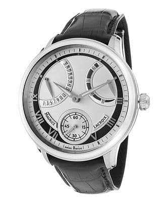 MAURICE LACROIX Masterpiece Retrograde Automatic Gents Watch MP7268-SS001-110