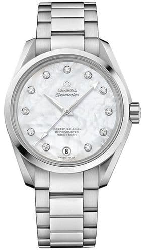 OMEGA Seamaster Aqua Terra Master Co-Axial Ladies Watch 231.10.39.21.55.002