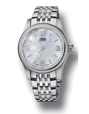 ORIS Big Crown Diamonds AUTOMATIC Ladies Watch 733 7649 4066