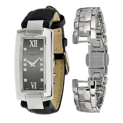 RAYMOND WEIL Shine 10 Diamond Ladies Watch 1500-ST-00785
