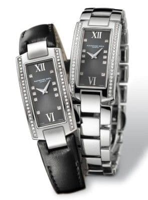RAYMOND WEIL Shine 58 Diamond Ladies Watch 1500-ST1-00785