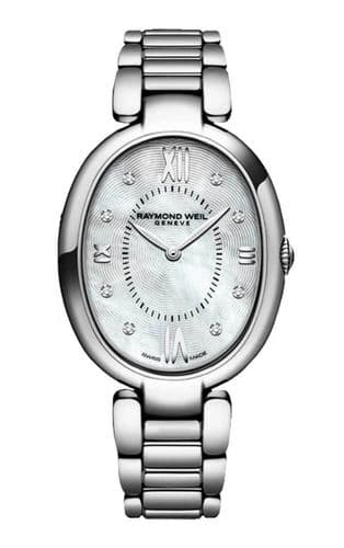 RAYMOND WEIL Shine Diamond Ladies Watch 1700-ST-00995
