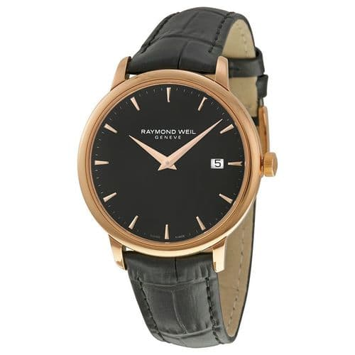 RAYMOND WEIL Toccata Rose Gold Ladies Watch 5388-PC5-20001