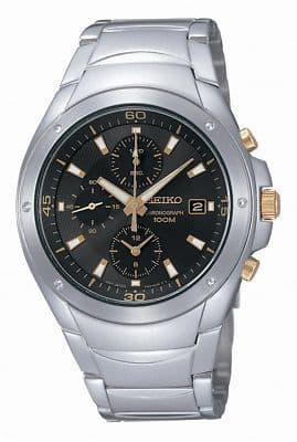 SEIKO Chronograph Gents Watch SND783P1