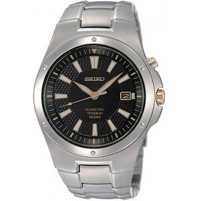 SEIKO Kinetic Titanium Gents Watch SKA399P1