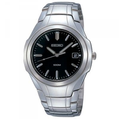 SEIKO Stainless Steel Gents Watch SGEC93P1