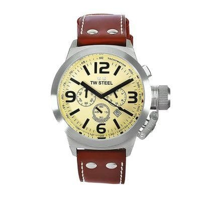 TW STEEL Canteen 45mm Chronograph Gents Watch TW5