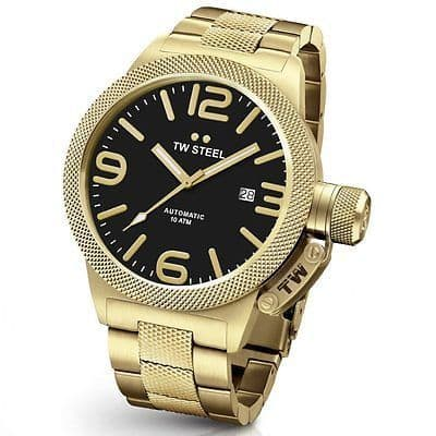 TW STEEL Canteen Automatic 45mm Gold Gents Watch CB95