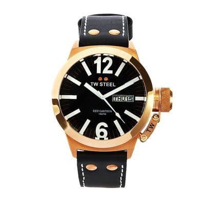 TW STEEL CEO Canteen Rose Gold Watch CE1021