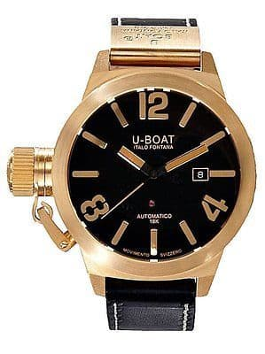 U-Boat Classico 45 18ct Solid Gold AUTOMATIC Gents Watch 1242