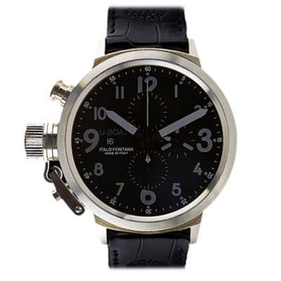 U-Boat Flightdeck 50 CA925 Sterling Silver Gents Watch 1091