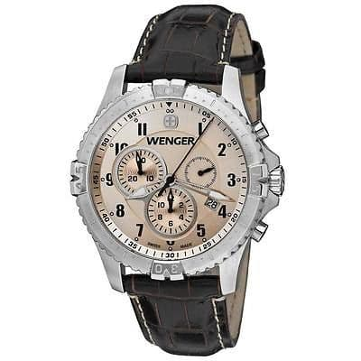 WENGER Squadron Chrono Chronograph Gents Watch 77052