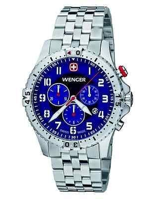WENGER Squadron Chrono Chronograph Gents Watch 77060