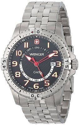 WENGER Squadron GMT Gents Watch 77076