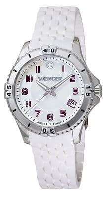 WENGER Squadron Lady White Ladies Watch 01.0121.103