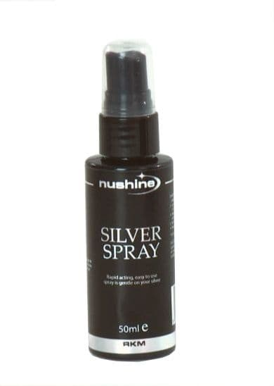 Silver Polish Spray (50ml) - for heavy tarnish