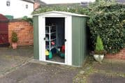 Metal Apex Shed 6X5 From Rowlinsons