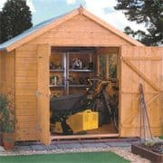 Premier Apex Garden Shed From Rowlinson's