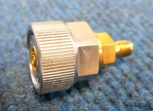 Amphenol 17-7031-1240 APC-7 to SMA Female 50ohms 18GHz Striaght Coxial Adapter