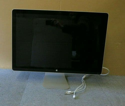 "Apple MB382LL/A A1267 24"" LCD TFT LED Cinema Display Monitor Built-In Speakers"