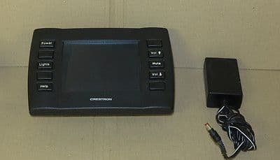 Crestron STX-1700C Touch-Screen Multimedia Controller With Charger Cradle