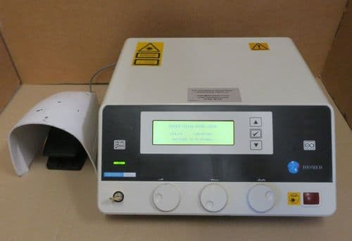 Diomed 15 Plus Diode EVLT 18w 635-660nm 5mW CW 790-830nm Medical Surgical Laser