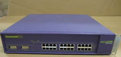 Extreme Summit 24 L2/L3 Ethernet Switch Model 13011