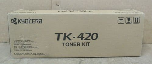 Kyocera TK-420 Black Toner Cartridge for Kyocera KM-2550 KM-2550F KM 2550S