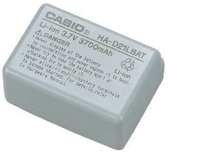 NEW Casio HA-D21LBAT 3700mAh Extended Battery Large Capacity Pack IT-600 IT-800