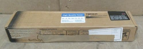 New Sharp MX-C38 Black Toner Cartridge for Sharp Color Systems MX-C310 MX-C381