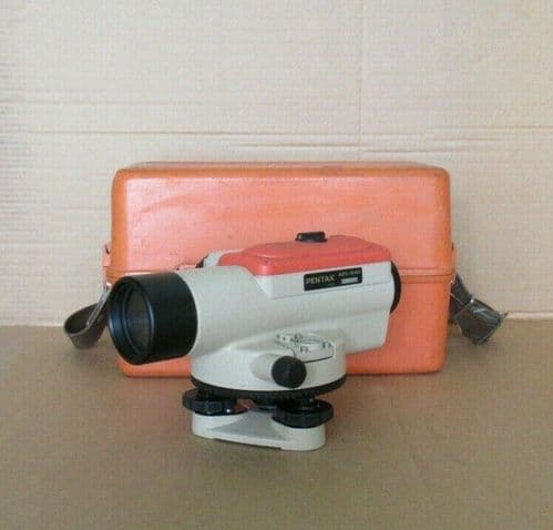 Pentax AFL-240 - 24x Auto Automatic Focus Level With Hard Carry Case