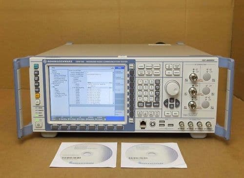 Rohde & Schwarz CMW 500 1201.0002K50 LTE Wideband Radio Communication Tester R&S