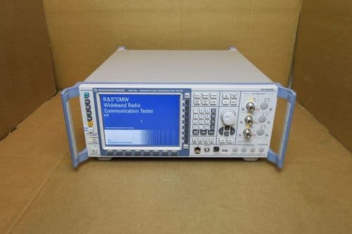 Rohde & Schwarz CMW 500 Wideband Radio Communication Tester 1201.0002K50 LTE R&S