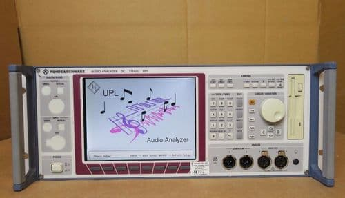 Rohde & Schwarz UPL16 B4/B6/B8/B10 Audio Analyzer DC to 110 kHz Rackmount R&S